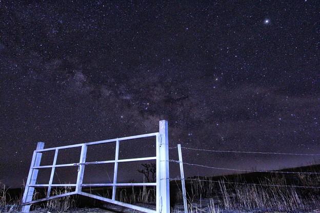 ミルクロードから見る天の川