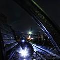 写真: 光と遊ぶ夜