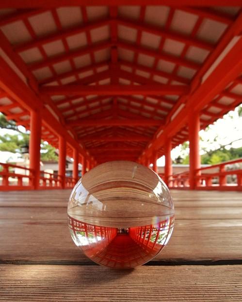 厳島神社の回廊