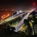 Photos: 薄っすら霞む関門橋