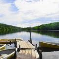 写真: 夏の白駒の池