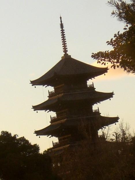 Photos: 日の入り前