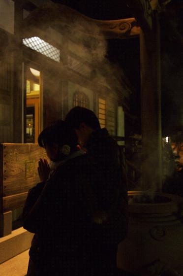 写真: 新年の祈り