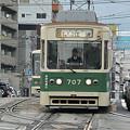 写真: 広島の市電