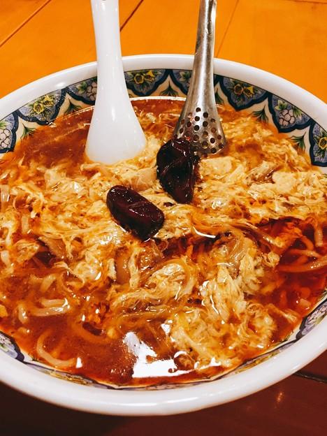 激辛酸辣湯麺