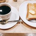 写真: コーヒーショップ