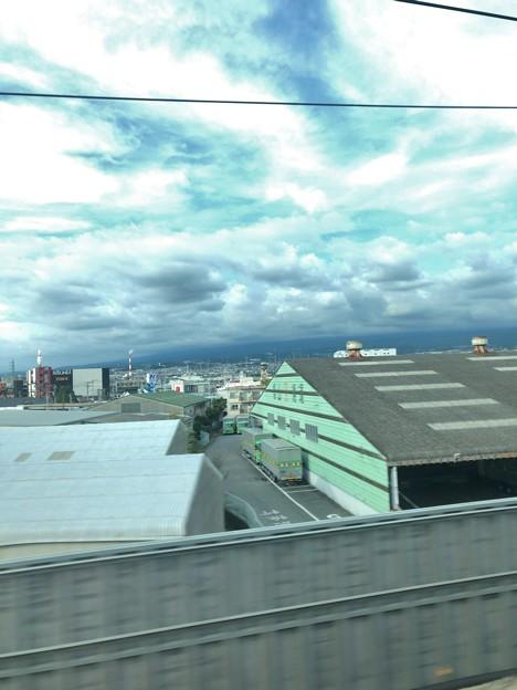 富士山見えなーい