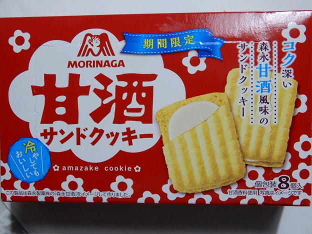 2018.5.18 MORINAGA  甘酒サンドクッキー