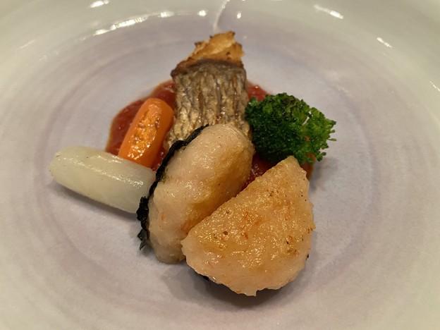 2021.1.29 鯛・海老団子・野菜