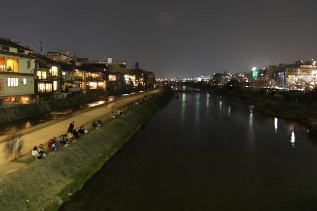 鴨川の夜景