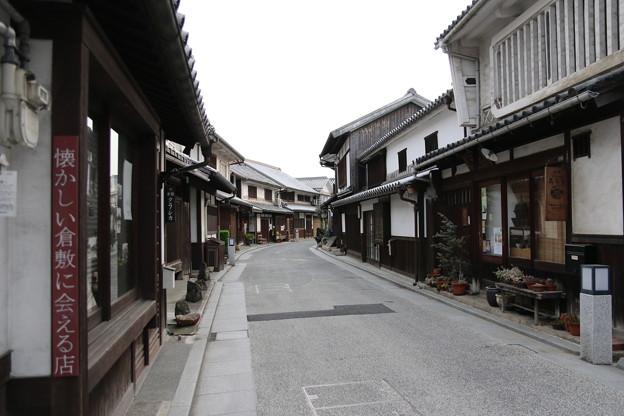 美観地区の街並み