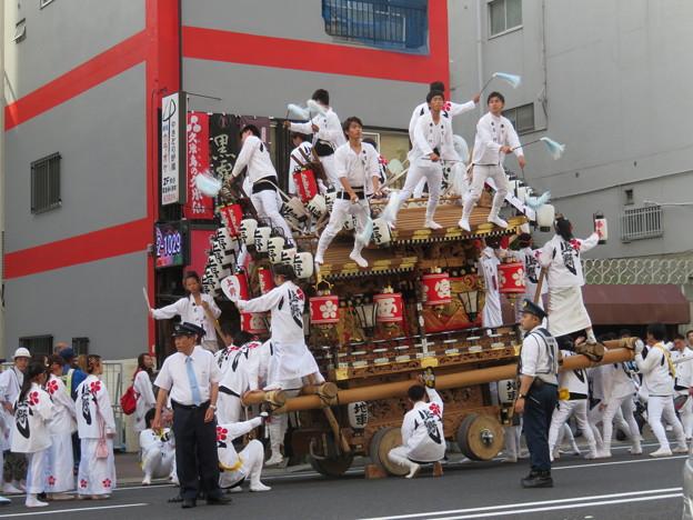 神戸のだんじり祭り