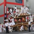 写真: 神戸のだんじり祭り