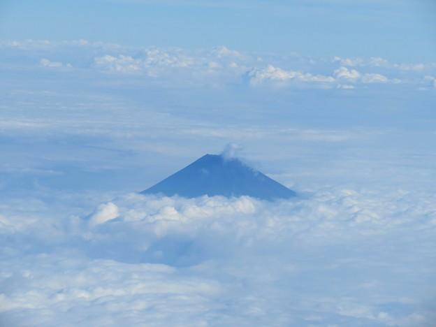 写真: 夏の富士山