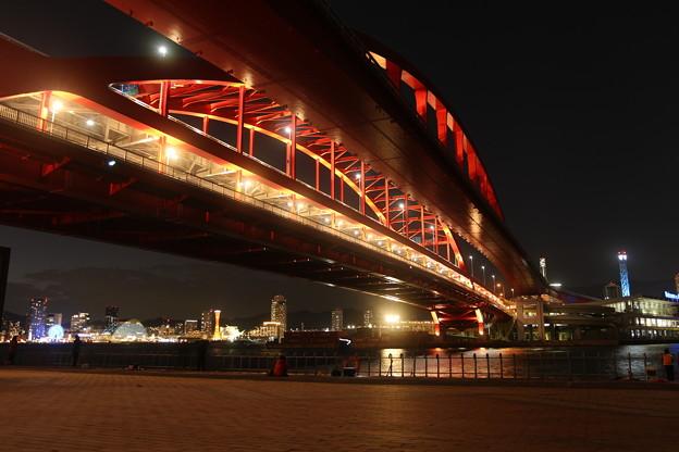 写真: 神戸の夜景
