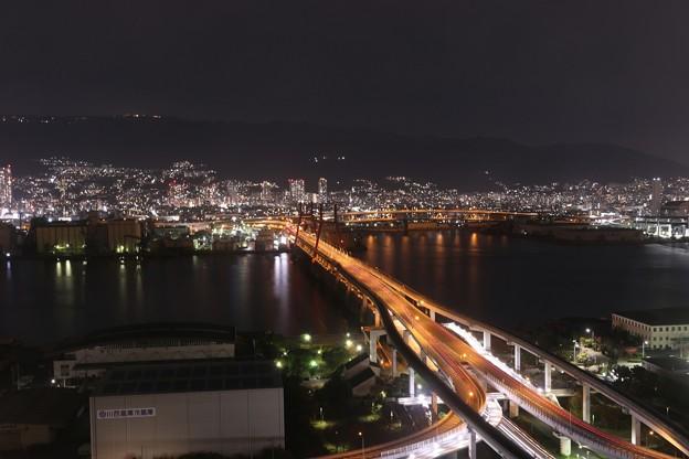六甲大橋の夜景