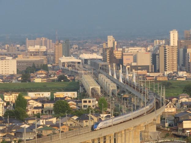富山駅周辺の北陸新幹線