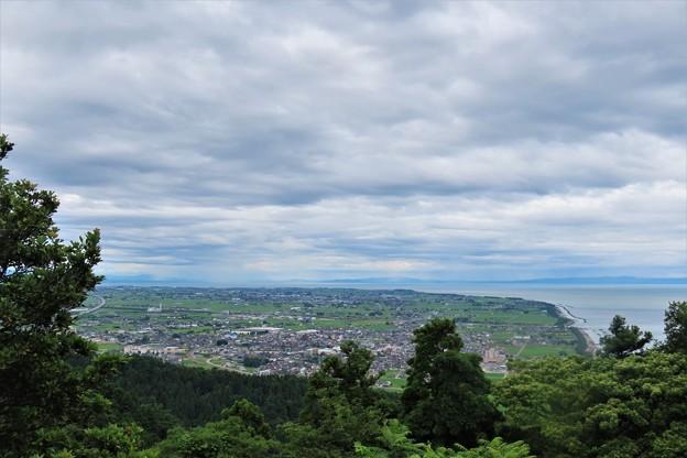 城山からの景色