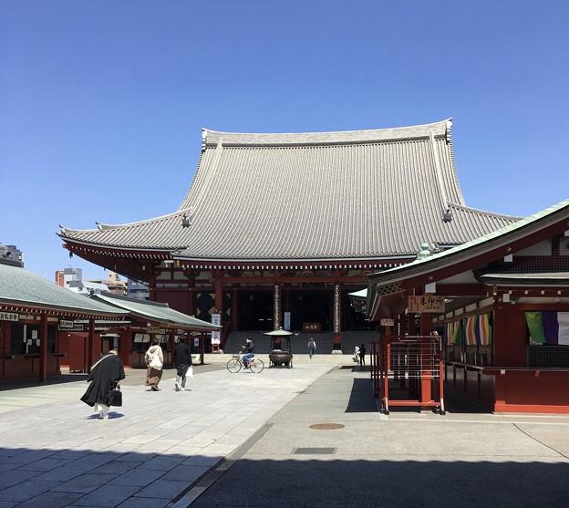 今日の浅草寺