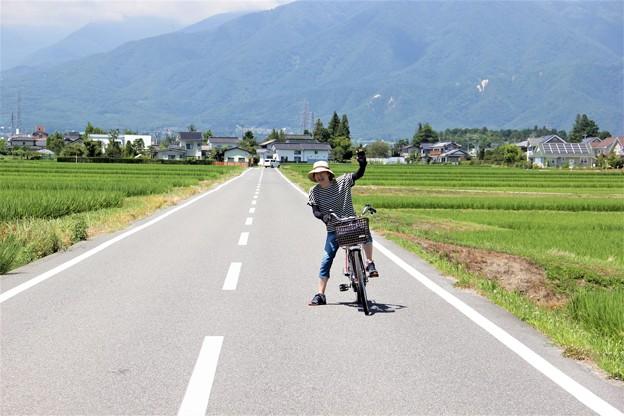 写真: 安曇野 穂高 サイクリング