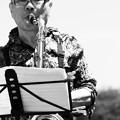 写真: Nao & Wagan Trio  ひたち国際大道芸