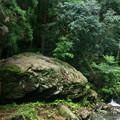 写真: 座禅石  日立市