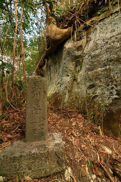 Photos: 295 謎の道標 東滑川海浜緑地