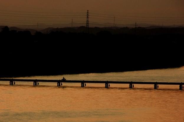 979 久慈川の地獄橋 沈下橋