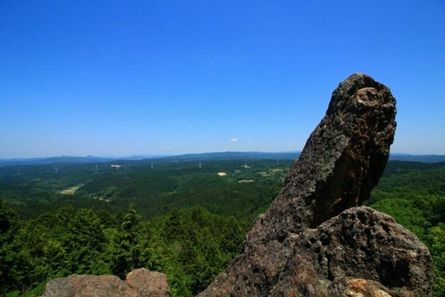 写真: いいね!の岩山  賀毘礼の高峰