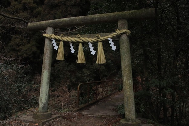 369  神峰神社 一の鳥居