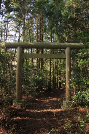 39 神峰神社 二の鳥居