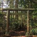 398 神峰神社 二の鳥居