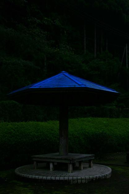 Photos: クリストの傘 里美村