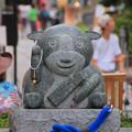 046 モルちゃん石像
