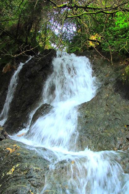 Photos: 372 石灰山口の夫婦滝