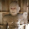 Photos: 109 黒前神社の仁王像