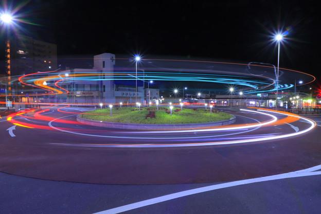 799 常陸多賀駅前のラウンドアバウト