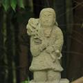 254 堂坂の石神像 白蛇伝説