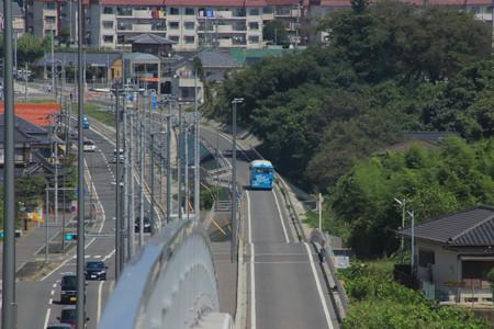 861 ひたちBRT 専用道路