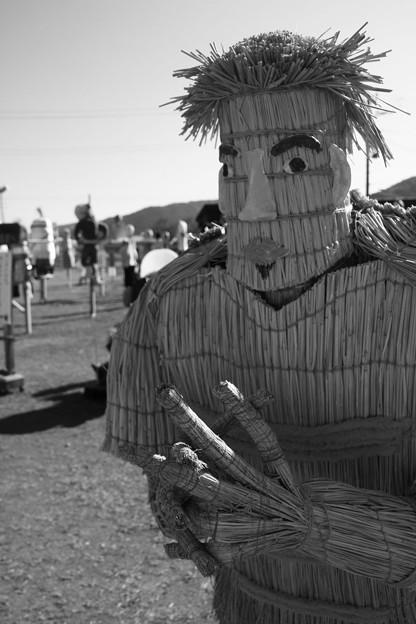 Photos: 里美かかし祭 2015 五郎丸かかし