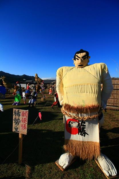 Photos: 里美かかし祭 2016 稀勢の里かかし