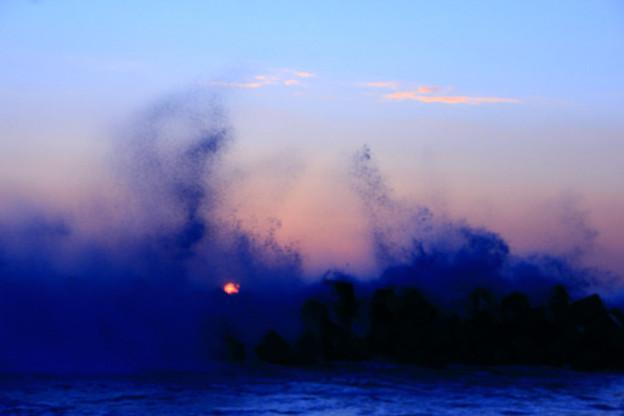 Photos: 高萩市・高浜海岸の初日の出