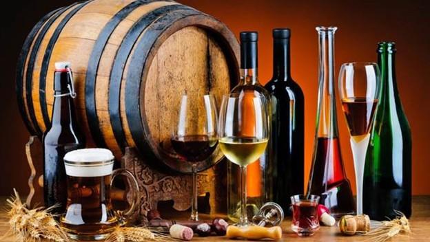 Liquor And Wine