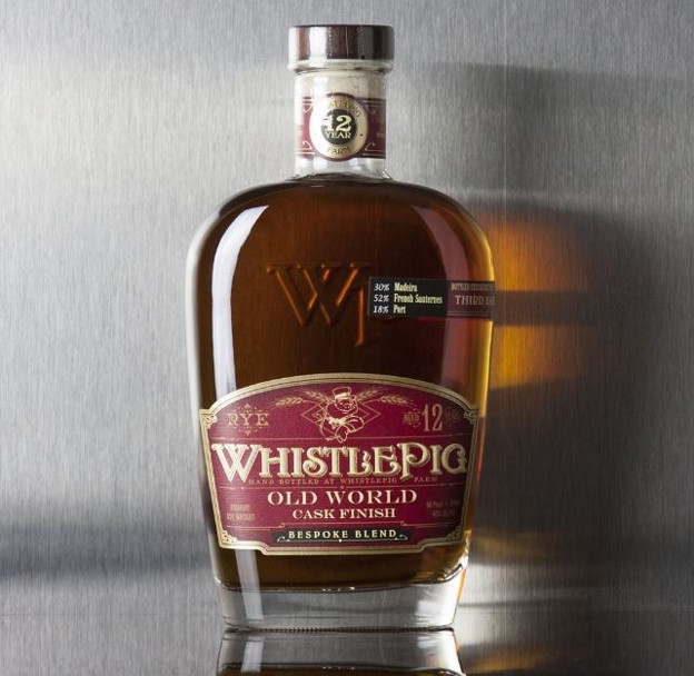WHISTLEPIG 12 YEAR BESPOKE BLEND RYE WHISKEY