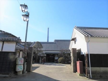 真壁 下宿通り「村井醸造」