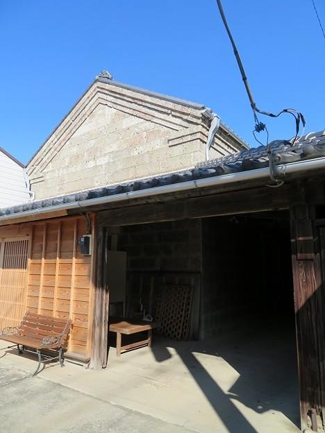 真壁 下宿通り「村井醸造」石蔵