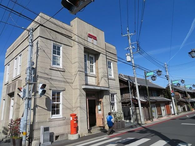 真壁 御陣屋前通り「真壁郵便局」