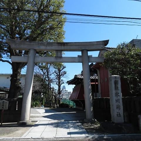 元麻布「氷川神社」