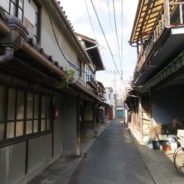 通町商店街の路地