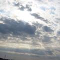 Photos: 太陽と光芒♪